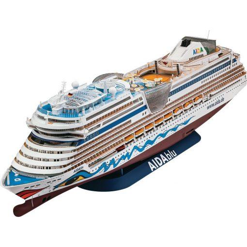 Revell Cruiser Ship AIDA - AIDAblu, AIDAsol, AIDAmar, AIDAstella hajó makett 5230