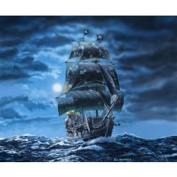 Revell Black Pearl (LTD. EDITION) hajó makett 1:72 5699