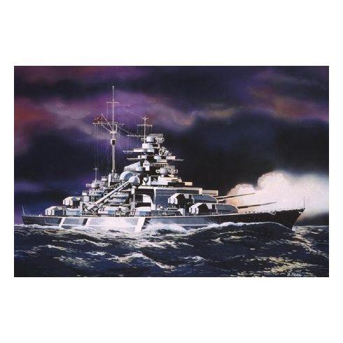 Revell Bismarck hajó makett 5802