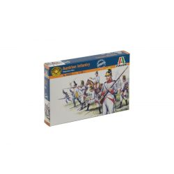 Osztrák gyalogság figura makett Italeri 6005