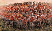 ITALERI Napoleon Wars - Brit gyalogság 1:72 ( 6095 ) figura makett