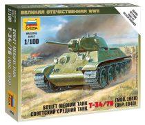 Soviet Medium Tank T-34/76 (mod.1940) tank makett Zvezda 6101