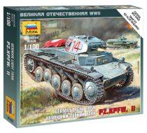 German Light Tank Pz.Kp.fw II tank makett Zvezda 6102