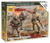 Soviet infantry 1941-1945 figura makett Zvezda 6103