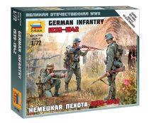 German Infantry 1939-1942 figura makett Zvezda 6105