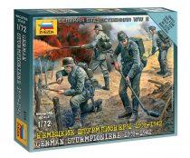 German Sturmpioniers 1939-1942 figura makett Zvezda 6110