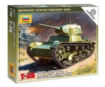 Soviet Tank T-26 tank makett Zvezda 6113