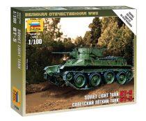 Soviet Light Tank BT-5 tank makett Zvezda 6129