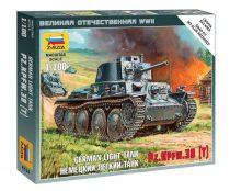 German Light Tank PZ.KPFW.38 (T) tank makett Zvezda 6130