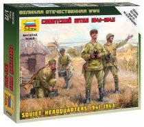 Soviet Headquarters 1941-1943 figura makett Zvezda 6132