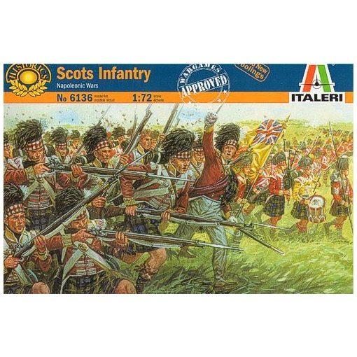 Scots infantry figura makett italeri 6136