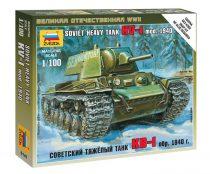 Soviet Heavy Tank KV-1 mod. 1940 tank makett Zvezda 6141