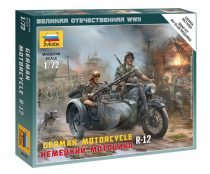 German Motorcycle R-12 katonai jármű Zvezda 6142