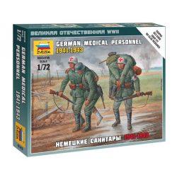 German Megical Personnel 1941-43 figura makett Zvezda 6143