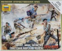 Zvezda Soviet Naval Infantry 1/72 (6146) figura makett