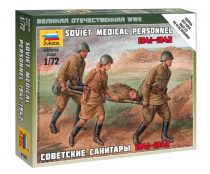 Soviet Medical figura makett Zvezda 6152