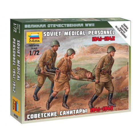 Soviet Medical figura makett Zvezda 6152