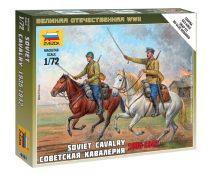 Soviet Cavalry figura makett Zvezda 6161