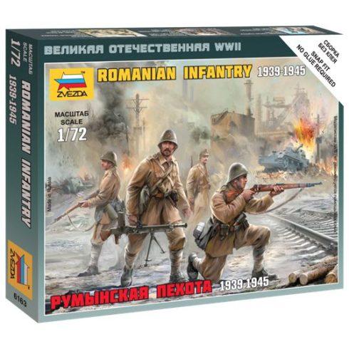 Romanian Infantry figura makett Zvezda 6163