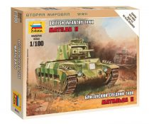 British Tank Matilda MK-II tank makett Zvezda 6171