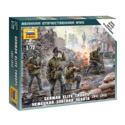 German Elite Troops 1939-43 figura makett Zvezda 6180