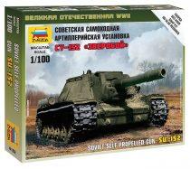 SU-152 Self-propelled Gun makett Zvezda 6182