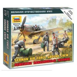 German airforce ground crew figura makett Zvezda 6188