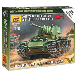 Soviet Heavy Tank mod.1941 With F-32 GUN tank makett Zvezda 6190