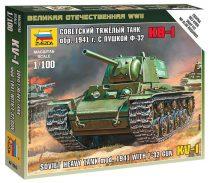 Soviet Heavy Tank mod.1941 With F-32 GUN tank makett Zvezda 6190