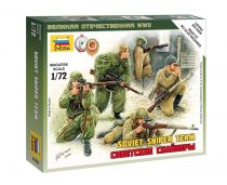 Soviet Snipers figura makett Zvezda 6193