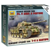 Pz.Kpfw.V Panther Ausf.A tank makett Zvezda 6196