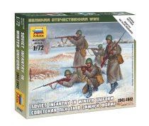 Soviet Infantry (Winter Uniform ) figura makett Zvezda 6197