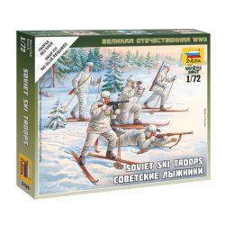 Soviet Skiers figura makett Zvezda 6199