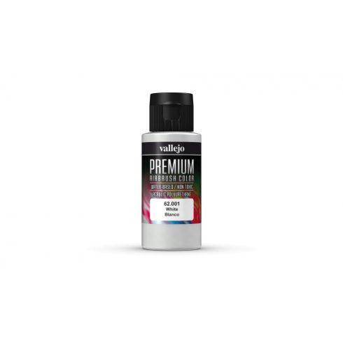 Vallejo White Premium Opaque festék 62001