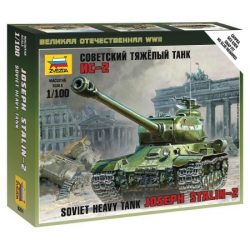 IS-2 Stalin tank makett Zvezda 6201