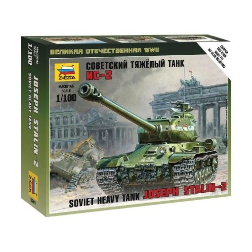 Zvezda IS-2 Stalin tank makett 6201