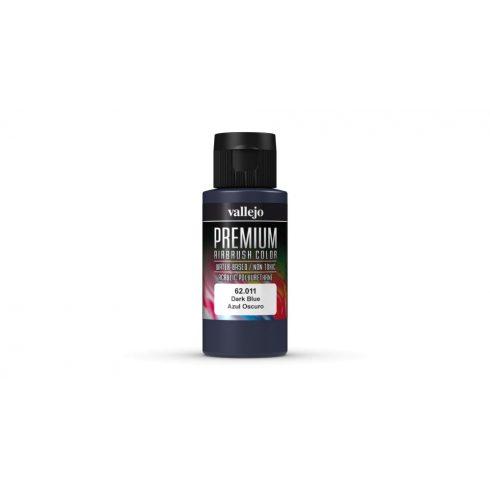 Vallejo Dark Blue Premium Opaque festék 62011