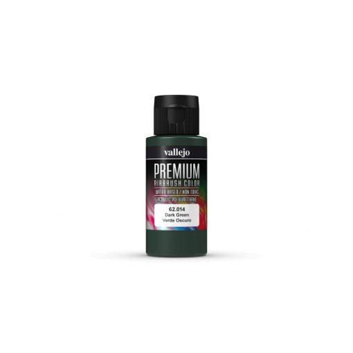 Vallejo Dark Green Premium Opaque festék 62014