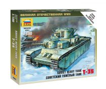 Soviet heavy tank T-35 tank makett Zvezda 6203