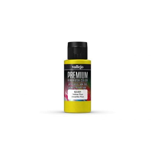 Vallejo Yellow Fluo Premium Fluorescent festék 62031