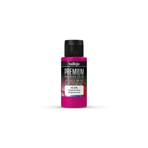 Vallejo Magenta Fluo Premium Fluorescent festék 62036