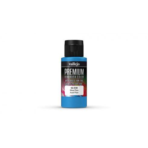 Vallejo Blue Fluo Premium Fluorescent festék 62038