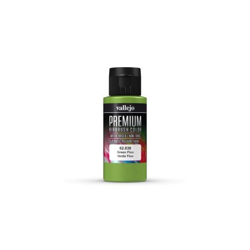 Vallejo Green Fluo Premium Fluorescent festék 62039