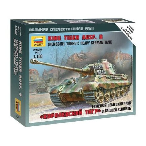 Zvezda Sd. Kfz. 182 King Tiger Henschel 6204