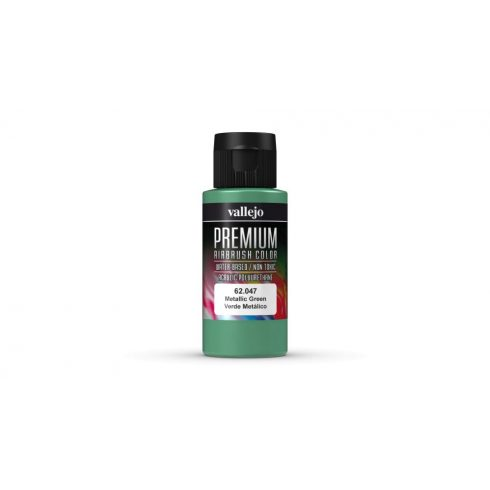 Vallejo Metallic Green Premium Pearl & Metallics festék 62047