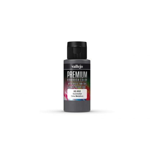 Vallejo Gunmetal Premium Pearl & Metallics festék 62052