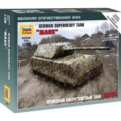 Zvezda Maus German Super Heavy tank makett 6213