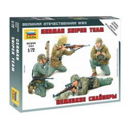 Zvezda German Sniper Team Military small sets 1:72 figura makett 6217