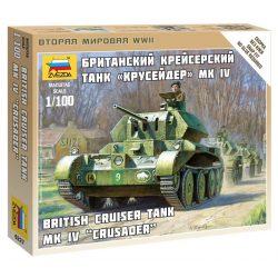 British Tank Crusader IV tank makett Zvezda 6227