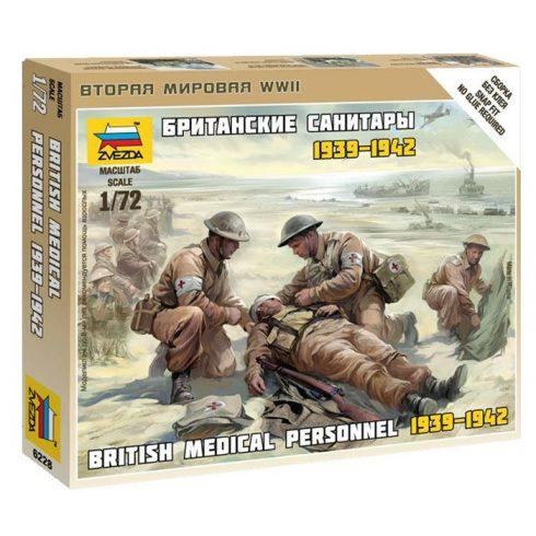 British Medic Team 1939-1942 figura makett Zvezda 6228